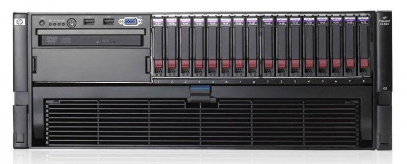 Сервер HP DL580G5 X7460  HC 4P 16G EU Svr (487362-421)