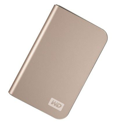 Внешний жесткий диск WD My Passport Elite WDMLZ5000TE, 500Гб, бронзовый