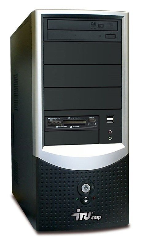 IRU Ergo Corp 1294W,  Intel  Core2 Duo  E8400,  DDR2 1Гб, 250Гб,  Intel GMA X3100,  DVD-RW,  Windows XP Professional,  черный