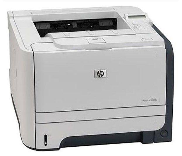 Принтер HP LaserJet P2055dn лазерный, цвет:  белый [ce459a]