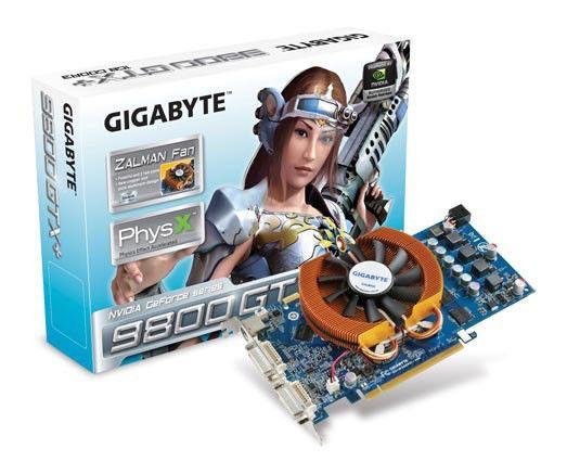 Видеокарта GIGABYTE GeForce 9800 GTX+,  1Гб, DDR3, Ret [gvn98xpzl-1gh]
