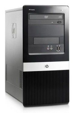 HP dx2400,  Intel  Pentium Dual-Core  E2220,  DDR2 2Гб, 250Гб,  Intel GMA X3100,  DVD-RW,  Windows XP Professional,  черный [kv361ea]