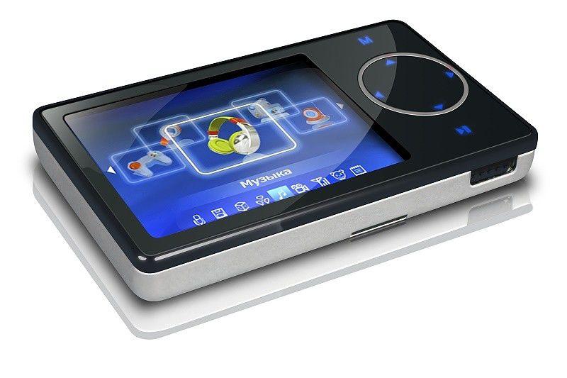 MP3 плеер DIGMA DS2410 flash 8Гб черный