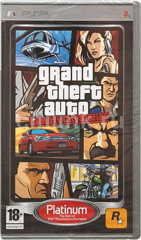 Игра  Grand Theft Auto: Liberty City Stories (Platinum) для  PSP Eng