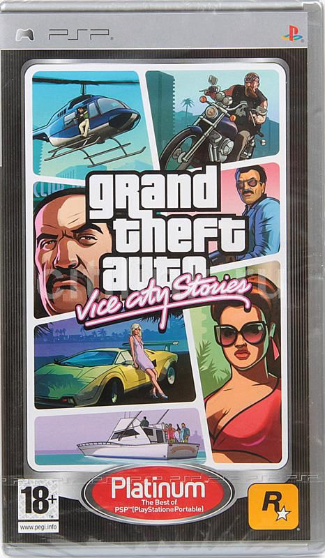 Игра  Grand Theft Auto: Vice City Stories (Platinum) для  PSP Eng