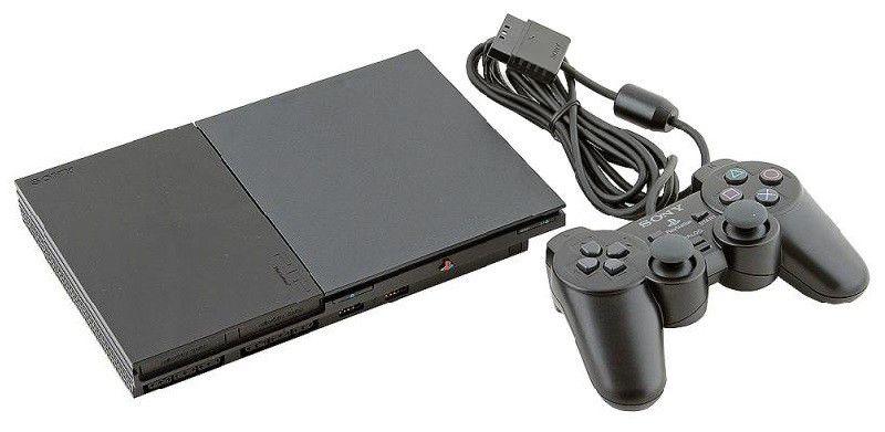 Игровая консоль SONY PlayStation 2 12142, черный