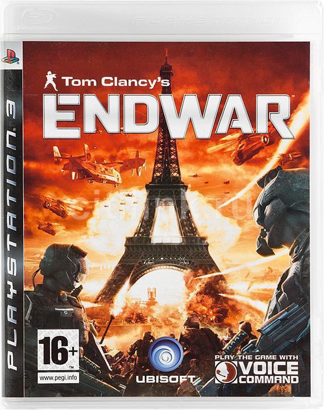 Игра  Tom Clancys EndWar для  PlayStation3 Eng