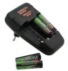 Аккумулятор + зарядное устройство DURACELL CEF14,  4 шт. AA,  1700мAч