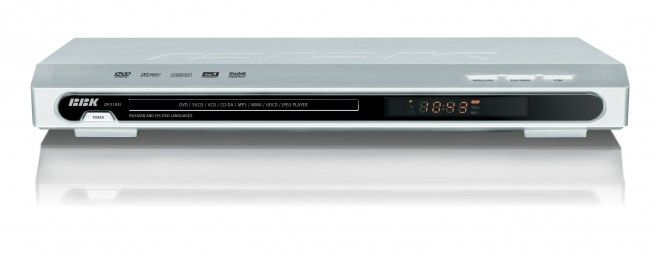 DVD-плеер BBK DV-319SI,  серебристый