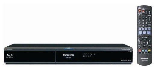 Плеер Blu-ray PANASONIC DMP-BD30EE-K, черный
