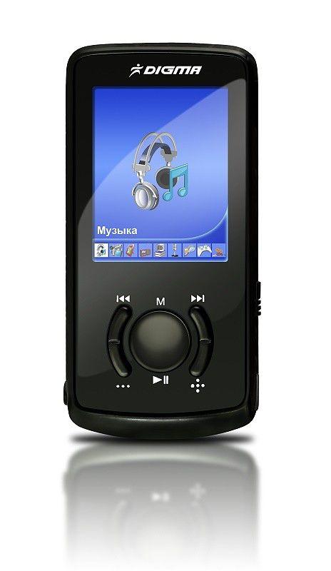 MP3 плеер DIGMA MP630 flash 8Гб черный