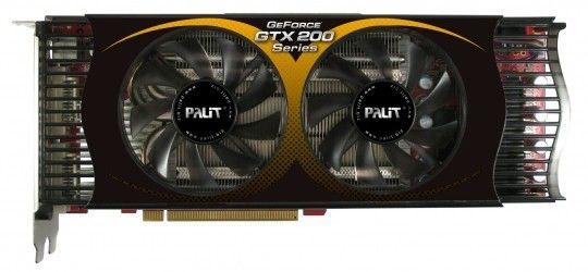 Видеокарта PALIT GeForce GTX 260,  896Мб, DDR3, Ret [xne/tx262+t3941]
