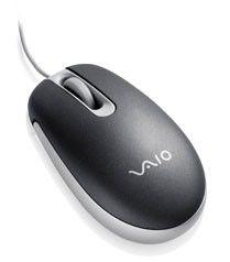 Мышь SONY PCGA-UMS3B оптическая проводная USB, черный