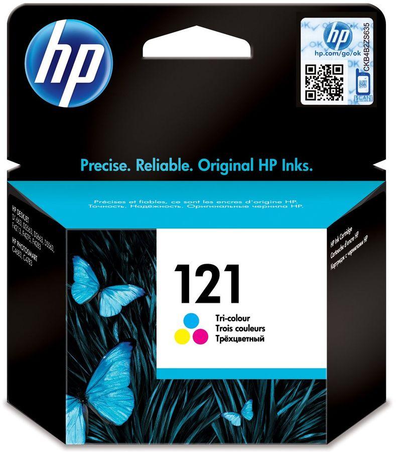 Картридж HP 121 многоцветный [cc643he]