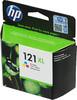 Картридж HP №121XL CC644HE,  многоцветный вид 1