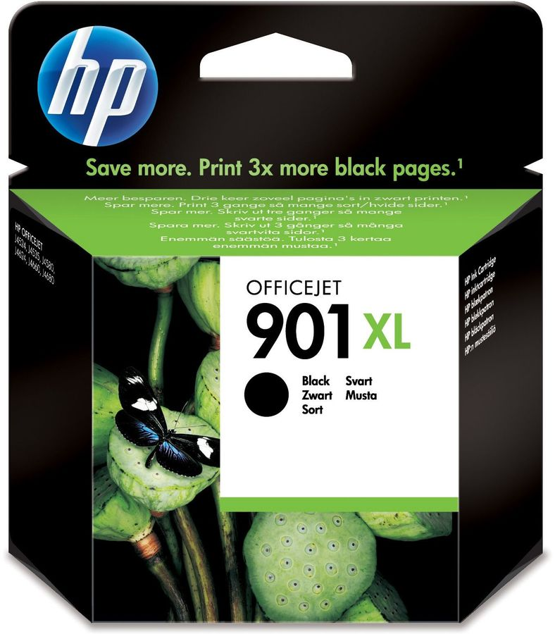 Картридж HP №901XL черный [cc654ae]