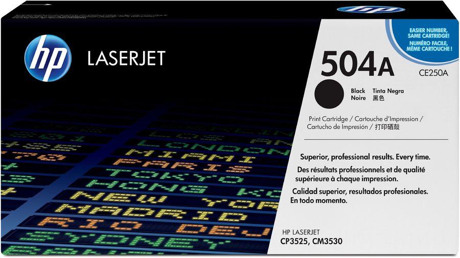 Картридж HP 504A черный [ce250a]