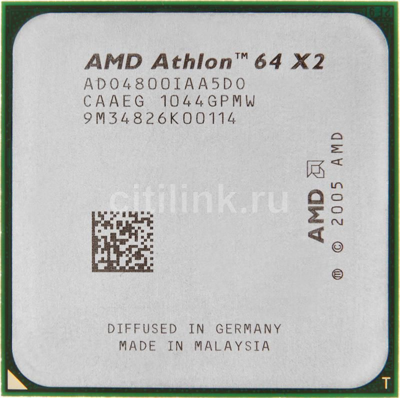 Процессор AMD Athlon 64 X2 4800+, SocketAM2 [ado4800iaa5do]