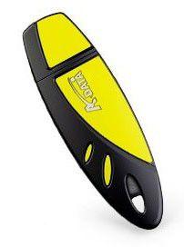 Флешка USB A-DATA RB19 8Гб, USB2.0, желтый и черный