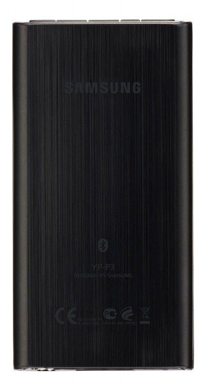 MP3 плеер SAMSUNG YP-P3CB flash 8Гб черный [yp-p3cb/xer]
