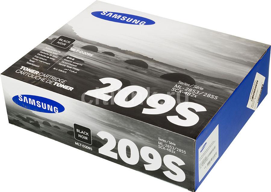 Картридж SAMSUNG MLT-D209S/SEE черный