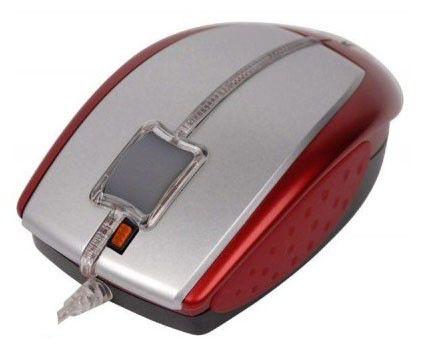 Мышь A4 X5-22D-2 оптическая проводная USB, PS/2, красный [x5-22d-2 (red)]