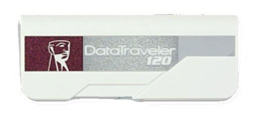 Флешка USB KINGSTON DataTraveler 120 8Гб, USB2.0, желтый [dt120/8gb]