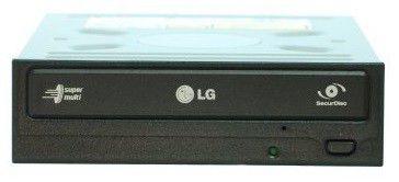 Оптический привод DVD-RW LG GH22NS30, внутренний, SATA, белый,  OEM