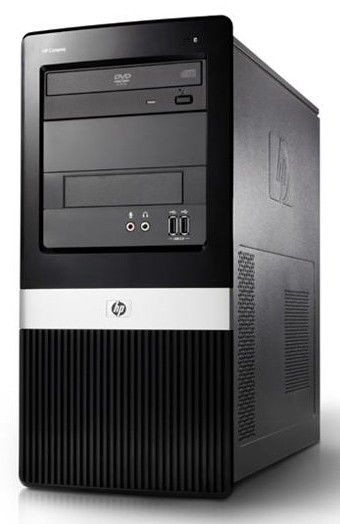 HP dx2400MT,  Intel  Pentium Dual-Core  E5300,  DDR2 2Гб, 250Гб,  Intel GMA X3100,  DVD-RW,  Windows Vista Business,  черный [kv360ea]