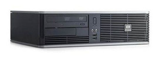 HP dc5800SFF,  Intel  Core2 Quad  Q8200,  DDR2 2Гб, 250Гб,  Intel GMA X3100,  DVD-RW,  CR,  Free DOS,  черный [na568ea]