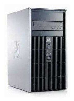 HP dc5800SFF,  Intel  Core2 Quad  Q8200,  DDR2 2Гб, 250Гб,  Intel GMA X3100,  DVD-RW,  CR,  Windows Vista Business,  черный [na725ea]
