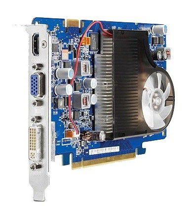 Видеокарта HP GeForce GT 130,  768Мб, DDR2, oem [ar957aa]