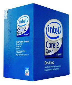 Процессор INTEL Core 2 Quad Q9550, LGA 775 BOX [bx80569q9550 s lb8v]