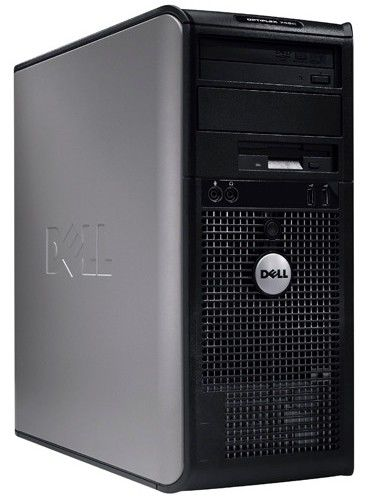 DELL Optiplex 760MT,  Intel  Core2 Duo  E7300,  DDR2 2Гб, 160Гб,  Intel GMA X4500,  DVD-RW,  Free DOS,  черный [210-25311]