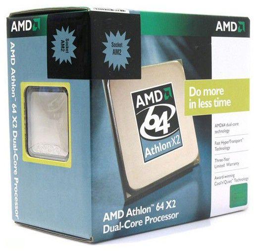 Процессор AMD Athlon 64 X2 7750+, SocketAM2+ [ad775zwcghbox]