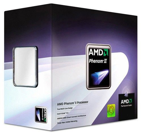 Процессор AMD Phenom II X4 920, SocketAM2+ BOX [hdx920xcgibox]