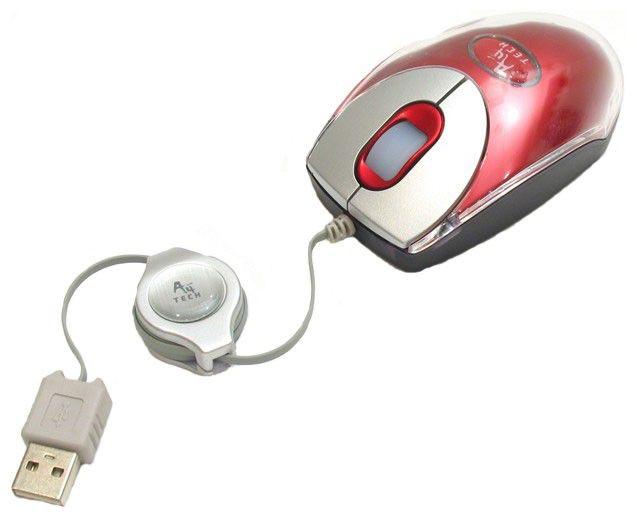 Мышь A4 BW-18K-1 оптическая проводная USB, красный [bw-18k-1 red]