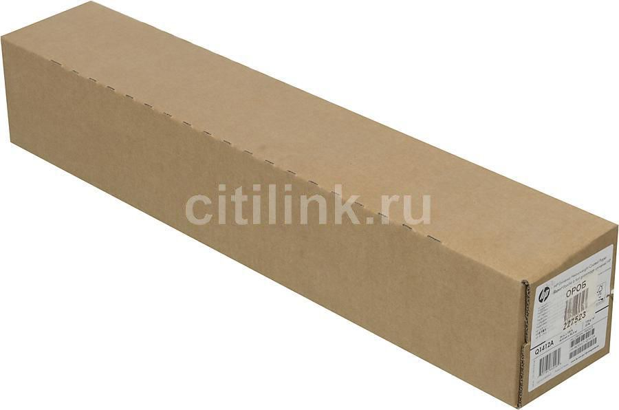 "Бумага HP Q1412B 24""(A1) 610мм-30.5м/131г/м2/белый для струйной печати втулка:50.8мм (2"")"