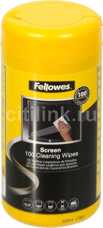 Влажные салфетки FELLOWES FS-99703