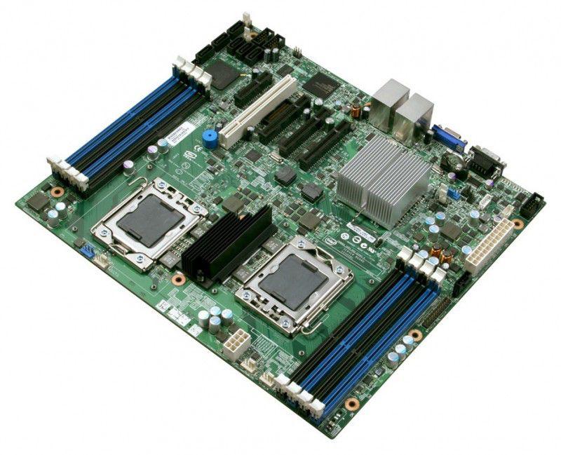 Материнская плата Intel Original S5500BC (Value server, 8 DIMMs)