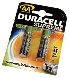 Аккумулятор DURACELL HR6,  2 шт. AA,  2650мAч