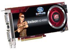 Видеокарта SAPPHIRE Radeon HD 4890,  1Гб, DDR5, oem [11150-xx-10r]