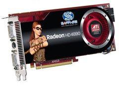 Видеокарта SAPPHIRE Radeon HD 4890,  1Гб, DDR5, Ret [21150-xx-40r]