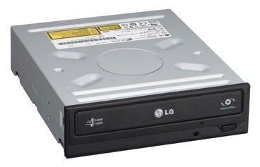 Оптический привод DVD-RW LG GH22NS40, внутренний, SATA, черный,  OEM [gh22ns40.auaa10b]