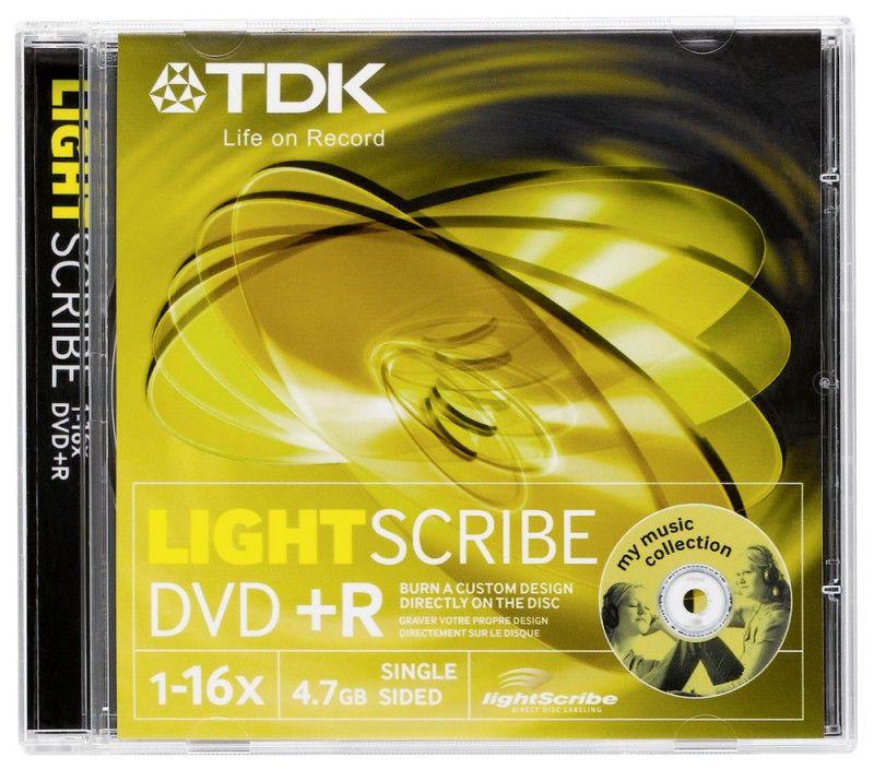 Оптический диск DVD+R TDK 4.7Гб 16x, 10шт., jewel case [t78100]