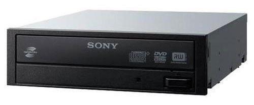 Оптический привод DVD-RW SONY DRU-865S WW, внутренний, SATA, черный,  Ret