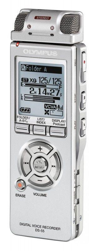 Диктофон OLYMPUS DS-55 1Гб,  черный [n2280021]