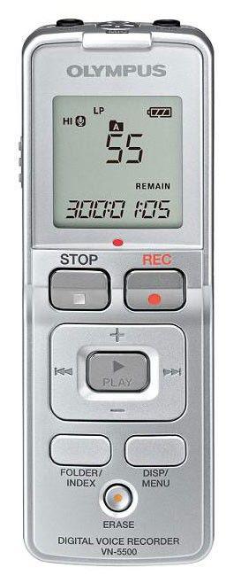 Диктофон OLYMPUS VN-5500 512Мб,  черный [n2277821]