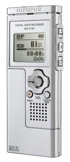 Диктофон OLYMPUS WS-321M 1Гб,  черный [e0457680]
