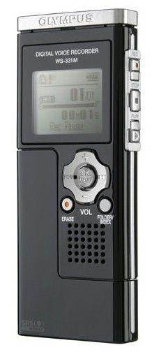 Диктофон OLYMPUS WS-331M 2 Gb,  черный [e0457679]